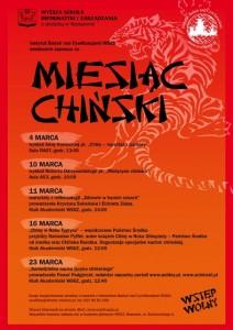 Miesiąc Chiński w Rzeszowie - plan