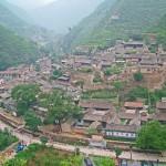 Widok na wioskę Chuandixia